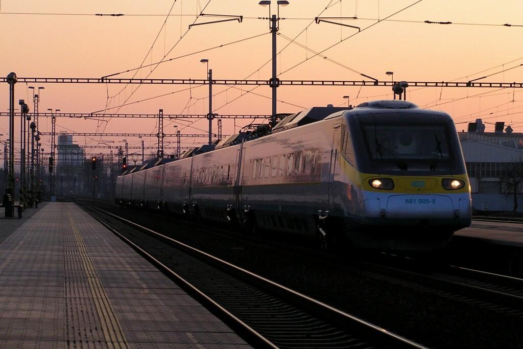 Los SuperCity son actualmente los trenes de más alta velocidad en República Checa (160km/h). Foto: Martin Grill.