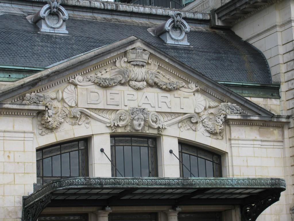 La belleza de la Estación de Limoges Bénédictins reside en los detalles. Foto: Leveretdreaming.