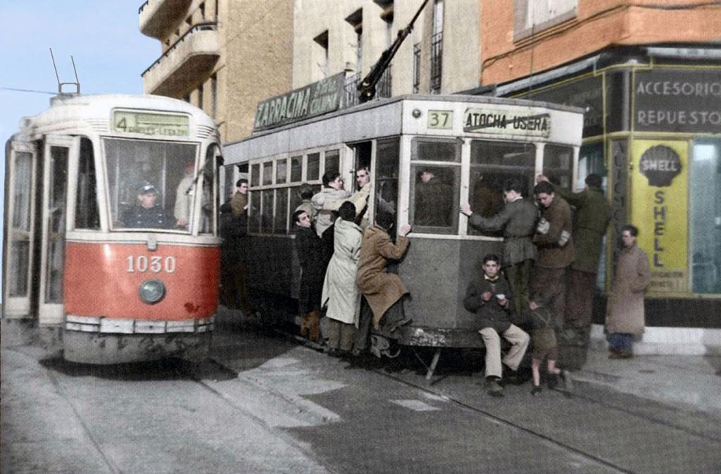 Imagen de los tranvías de Madrid. Foto: Fuente Rebollo.