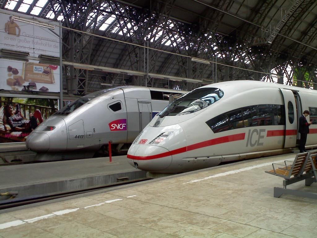 DB y SNCF usan sus filiales para crear una falsa competencia. Foto: Ting Chen.