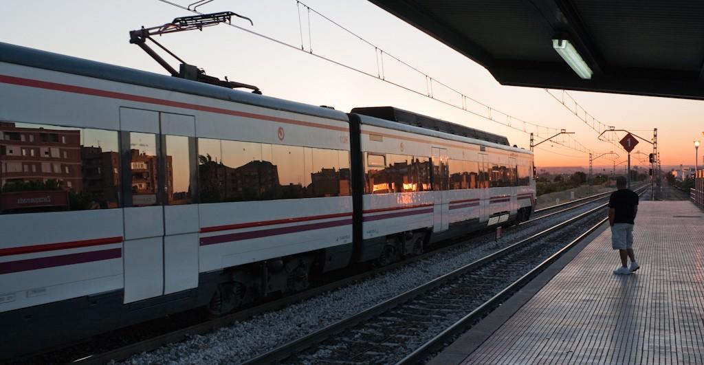 La red de Cercanías ya necesitaba una inversión importante. Foto: Jose Maria Ballesteros.