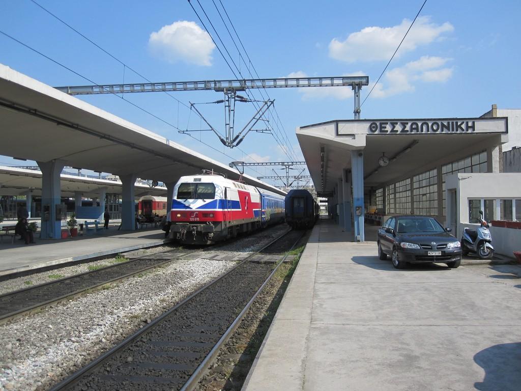 Rusia podría entrar en el ferrocarril griego con la compra de Rosco y Trainose. Foto: Phil Richards.