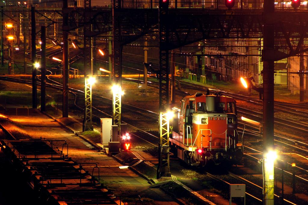El robo de metal es parte del día día del sector ferroviario. Foto: Tsuna72.