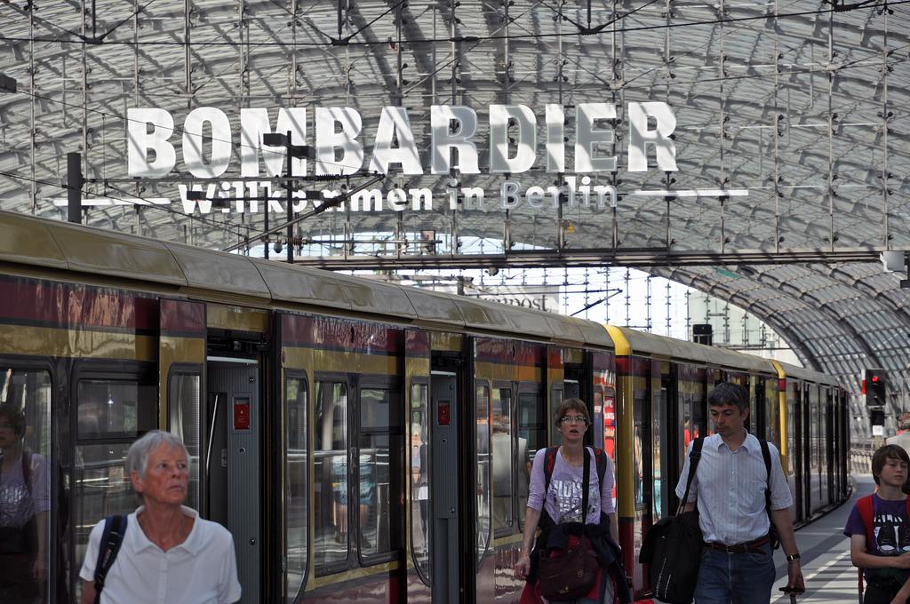 Bombaridier Transportation tiene previsto salir a bolsa en el último trimestre de 2015. Foto: Doug.