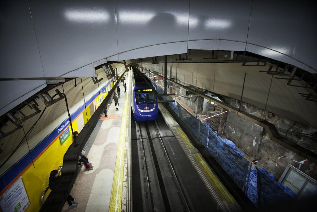 Metro de Madrid aprovechará de nuevo el verano para llevar a cabo obras de mantenimiento en la red. Foto: Comunidad de Madrid.