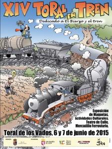 Cartel de Toral del Tren 2015