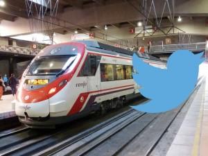 Cercanías Madrid se sube al tren de Twitter para informar a los viajeros en tiempo real.