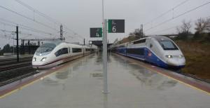 La liberalización del transporte de viajeros permitiría que imágenes como esta fueran habituales en otras estaciones. Foto: Miguel Bustos.