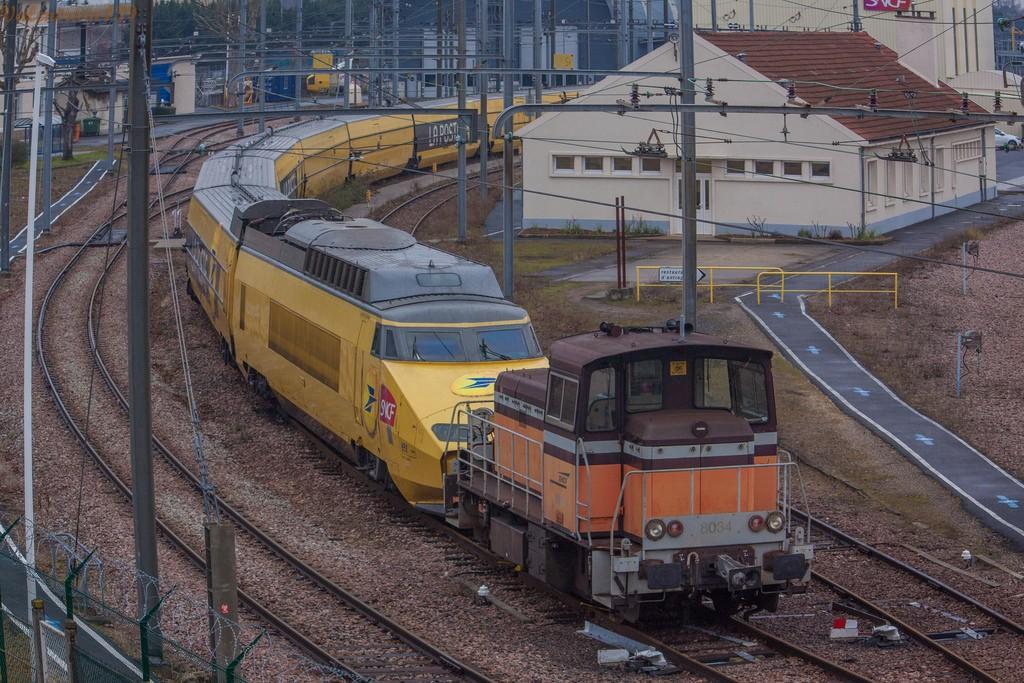 Los TGV de servicio postal se jubilan después de más de tres décadas de servicio.