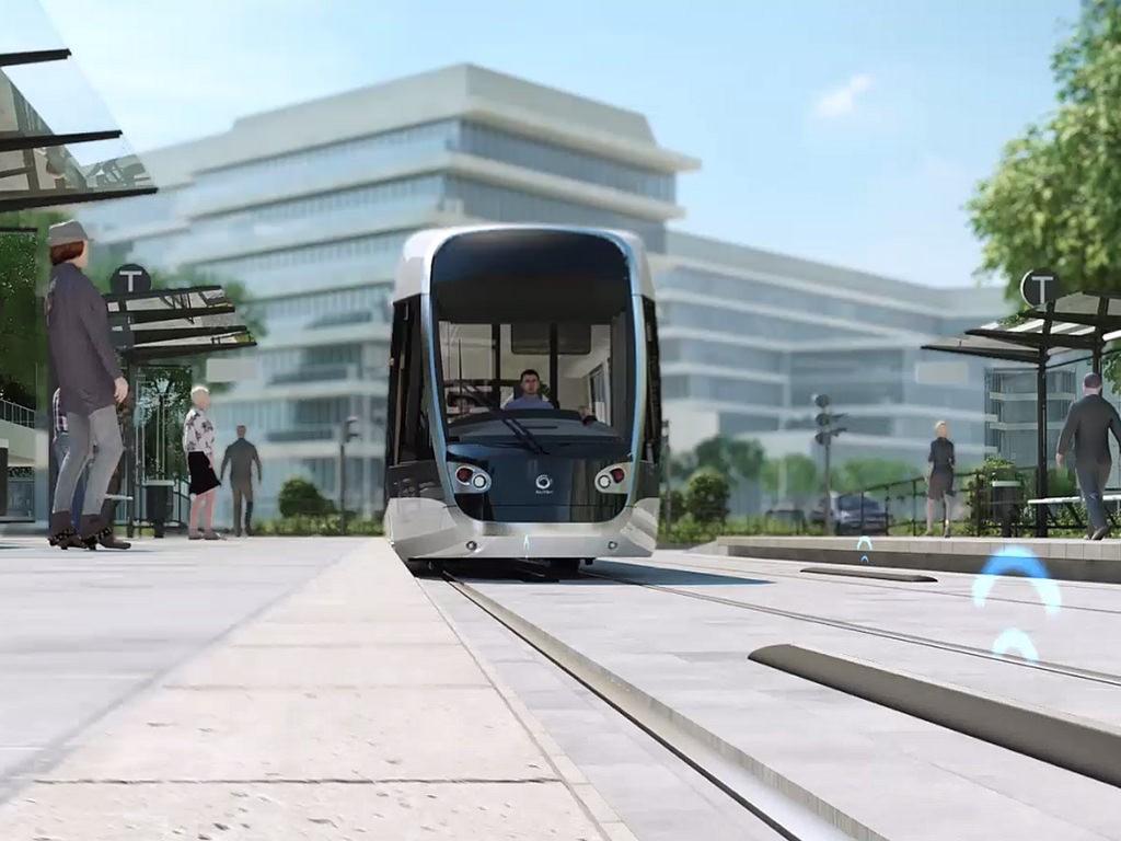 El concepto Attractis de Alstom ha sido presentado en la Expo de Milán. Foto: mwmbwls.
