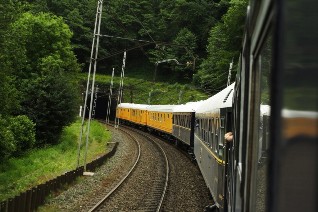 El Tren Azul de la AZAFT realizará el Expreso 25 aniversario al Museo del Ferrocarril de Cataluña en Vilanova. Foto: Daniel Luis Gómez.