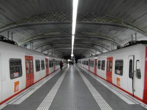 El sistema Detector ya se ha instalado en Plaza de Cataluña, una de las estaciones más importantes de Barcelona. Foto: InglofBCN.