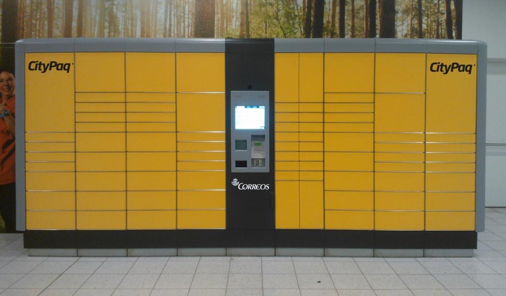 Imagen de uno de los terminales Citypaq. Foto: Correos.