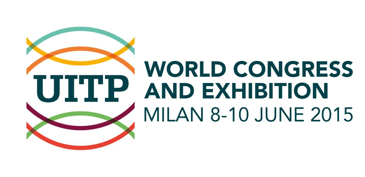 Cartel oficial de UITP 2015. Foto: UITP Milano.