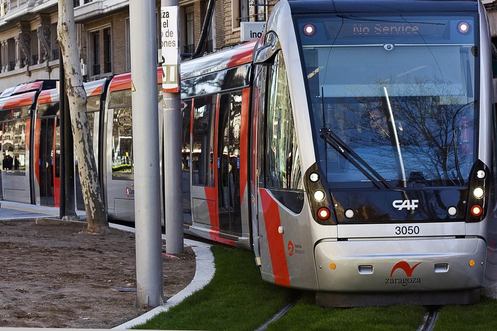 Un paso adelante para el proyecto de la línea 2 del tranvía de Zaragoza. Foto: KINO.