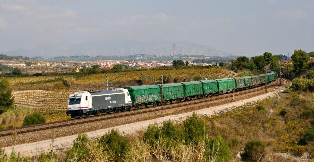 La instalación de ejes variables en los trenes de mercancías les permitirá circular por una red más amplia. Foto: Eldelinux.
