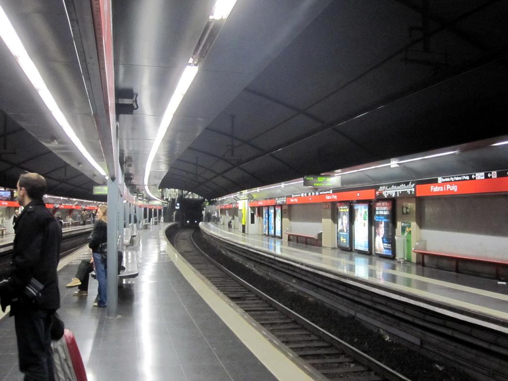Los usuarios del metro de Barcelona sufrirán algunas alteraciones del servicio este mes de agosto. Foto: José Gonzalvo Vivas.