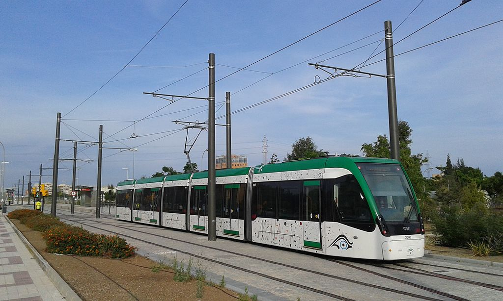 El metro de Málaga ha superado las expectativas en este primer año de servicio. Foto: Miwipedia.