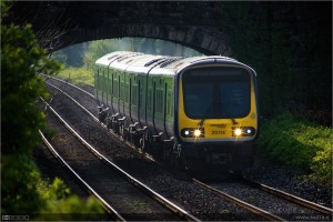 En Dublín se aprovechará una línea ya construida para conseguir una nueva conexión con una inversión menor. Foto: Bart Busschots.