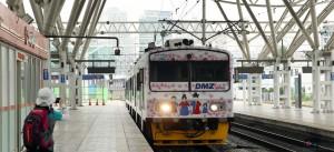 Aunque los trenes ya circulan por el segmento de Corea del Sur, ahora se restaurará la línea en la parte más cercana a la zona desmilitarizada. Foto: República de Corea.