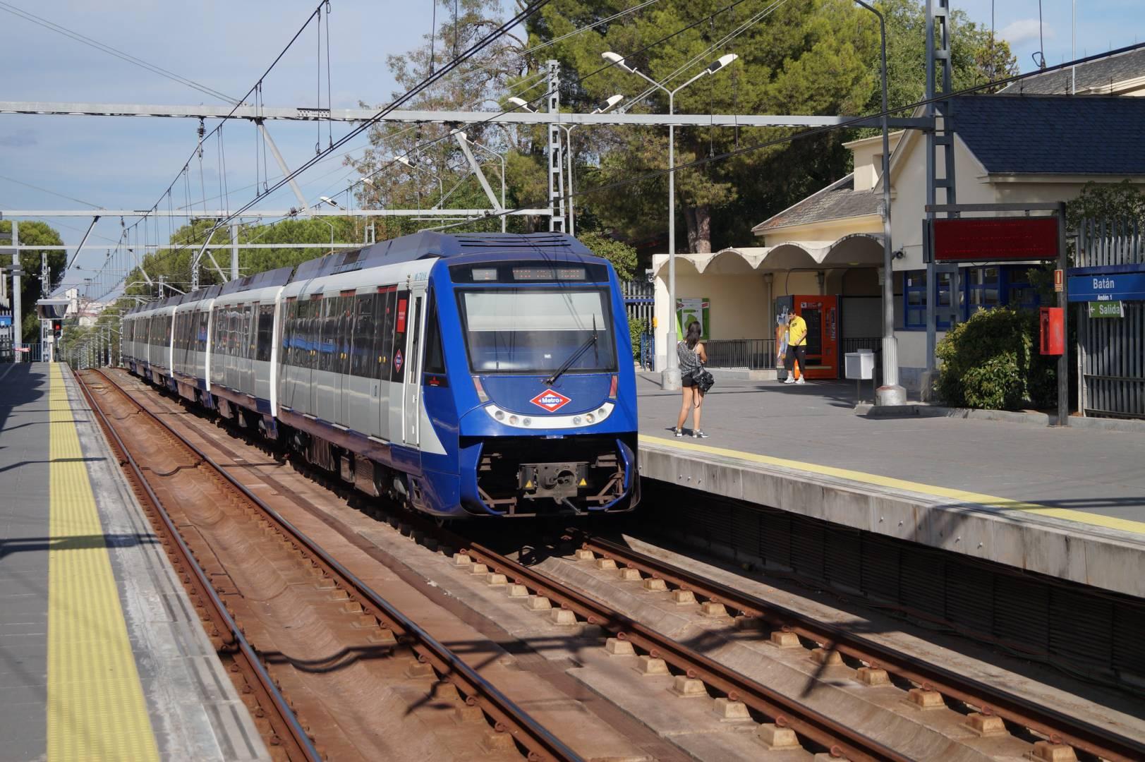 La línea 10 del metro de Madrid estará cerrada dos semanas entre Tribunal y Batán. Foto: Patrick1977Bln.