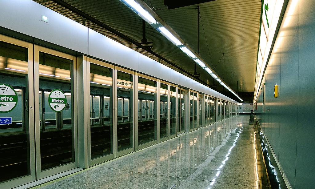 Buenos datos para Metro de Sevilla en 2014 tras dos años difíciles. Foto: Eduardo Millo.