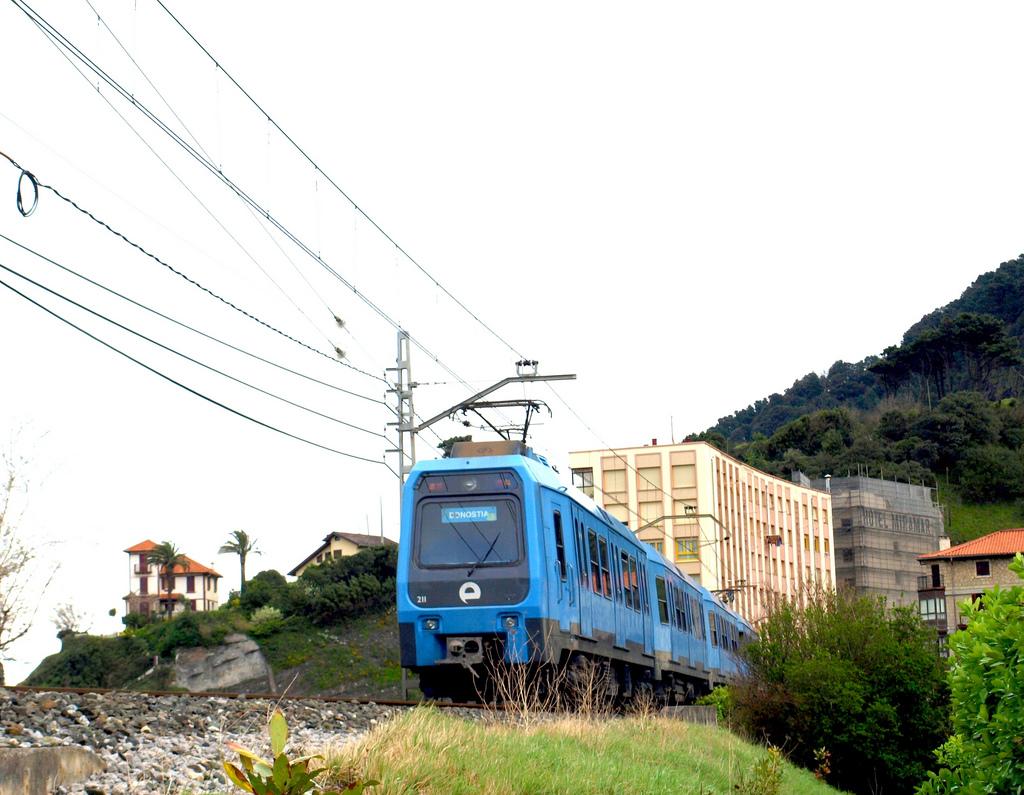 Euskotren alcanza unos niveles de calidad percibida entre los usuarios que le sitúan en la excelencia. Foto: Bonaventura Leris.