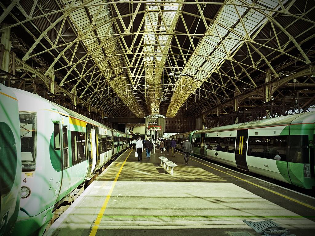 Las alteraciones del servicio en la estación de London Bridge han sido una de las principales causas de la multa impuesta a Network Rail. Foto: Gerry Balding.
