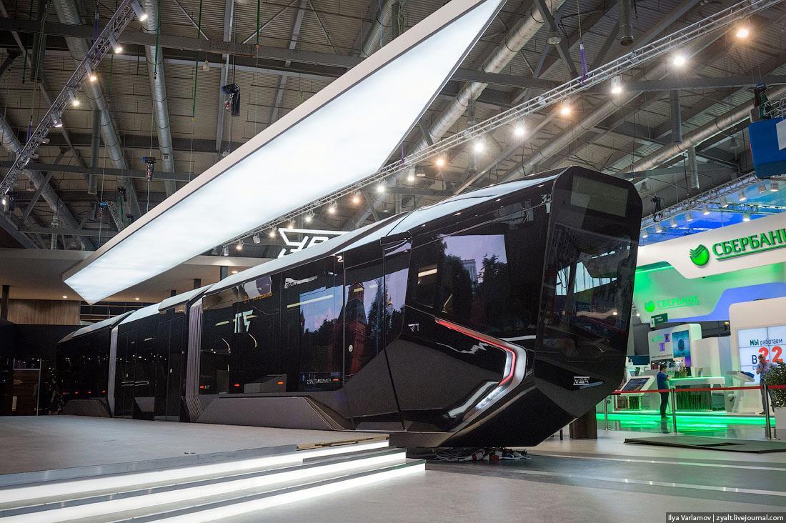 El del 71-410 Russia One es uno de los diseños más futuristas de los últimos tiempos. Foto: Ilya.