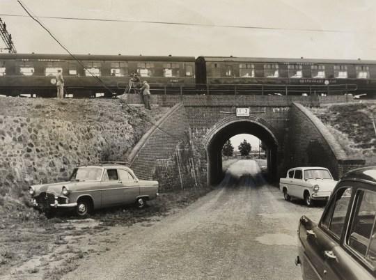 En este punto fue donde los ladrones esperaron para llevar a cabo el asalto al tren de Glasgow en 1963. Foto: National Railway Museum.