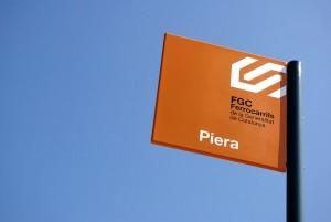 Las clases de inglés de FGC se impartirán en algunos trenes de las líneas R5 y R6. Foto: Josep María Rosell.
