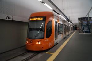 Muy buenos datos para la línea 2 del TRAM de Alicante en sus primeros dos años de servicio. Foto: Patrick1977Bln.