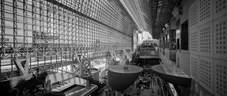 Interior de la estación de Kioto. Foto: Alex Chen.