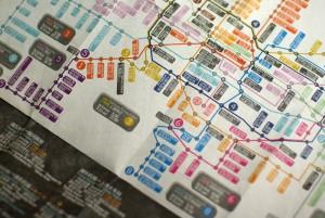 La red de metro de la capital china seguirá expandiéndose. foto: Guccio.