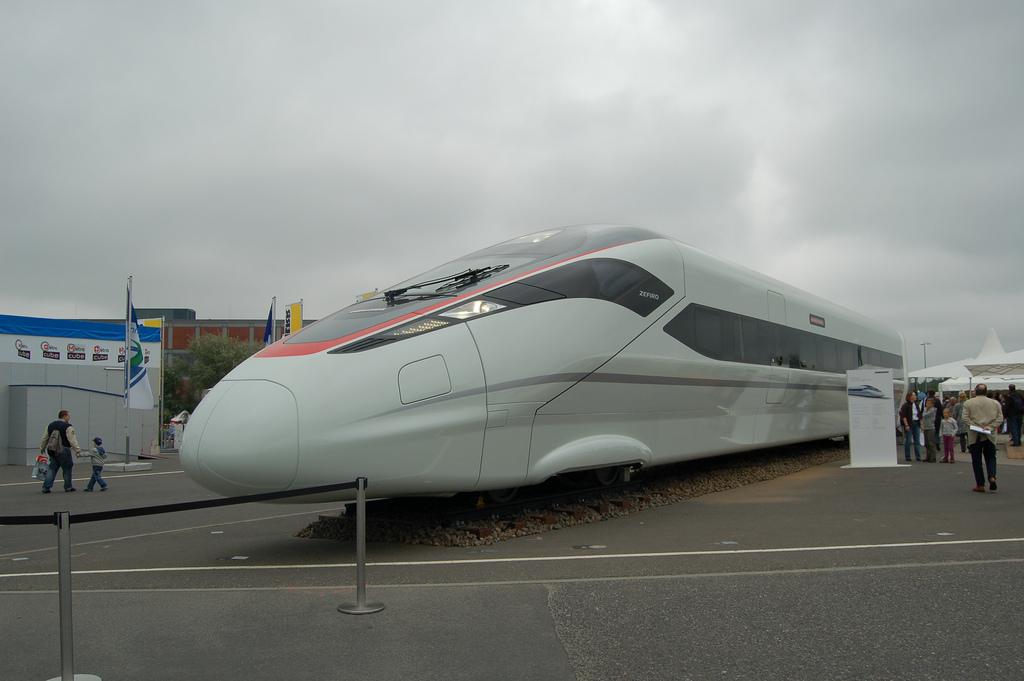 La china CRC ha elegido el modelo Zefiro 380 para constituir su nueva flota de trenes de alta velocidad. Foto: Matt Thorpe.