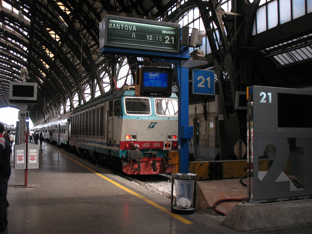 Megacontrato de Trenitalia para renovar su flota de trenes regionales. Foto: Photobeppus.