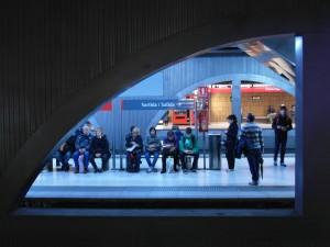 Plaza de Cataluña y Getafe Central son las dos estaciones de Cercanías Renfe que ya cuentan con WiFi gratuito. Foto: Ingolf.