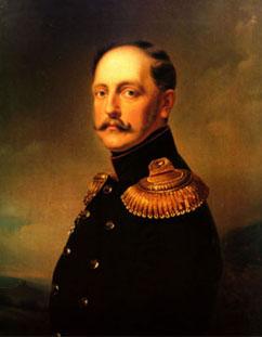 El zar Nicolás I fue el primer propulsor del ferrocarril en Rusia.