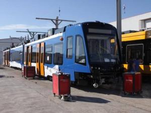 El tren-tranvía de Sheffield, cuyos vehículos están siendo terminados por Vossloh España, es el primer proyecto de estas características en Reino Unido. Foto: mwmbwls.