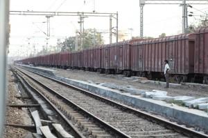 Las locomotoras indias de General Electrics y Alstom se usarán en servicios de transporte de mercancías. Foto: Zipporah.