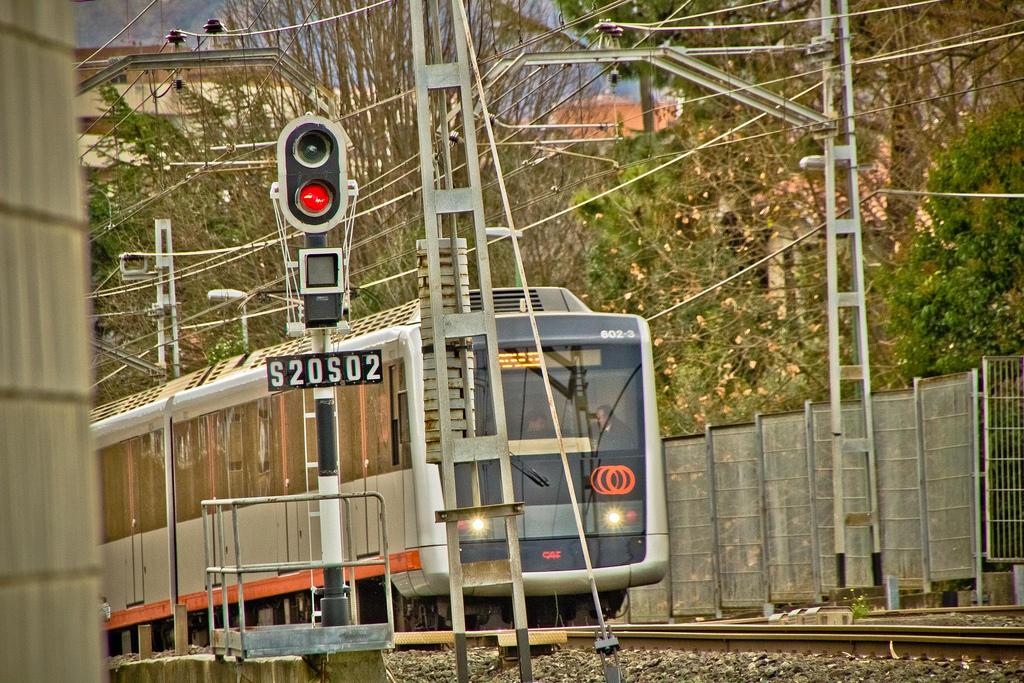 Tal día como hoy en 1995 entro en servicio Metro Bilbao. Foto: Mikel Agirregabiria.