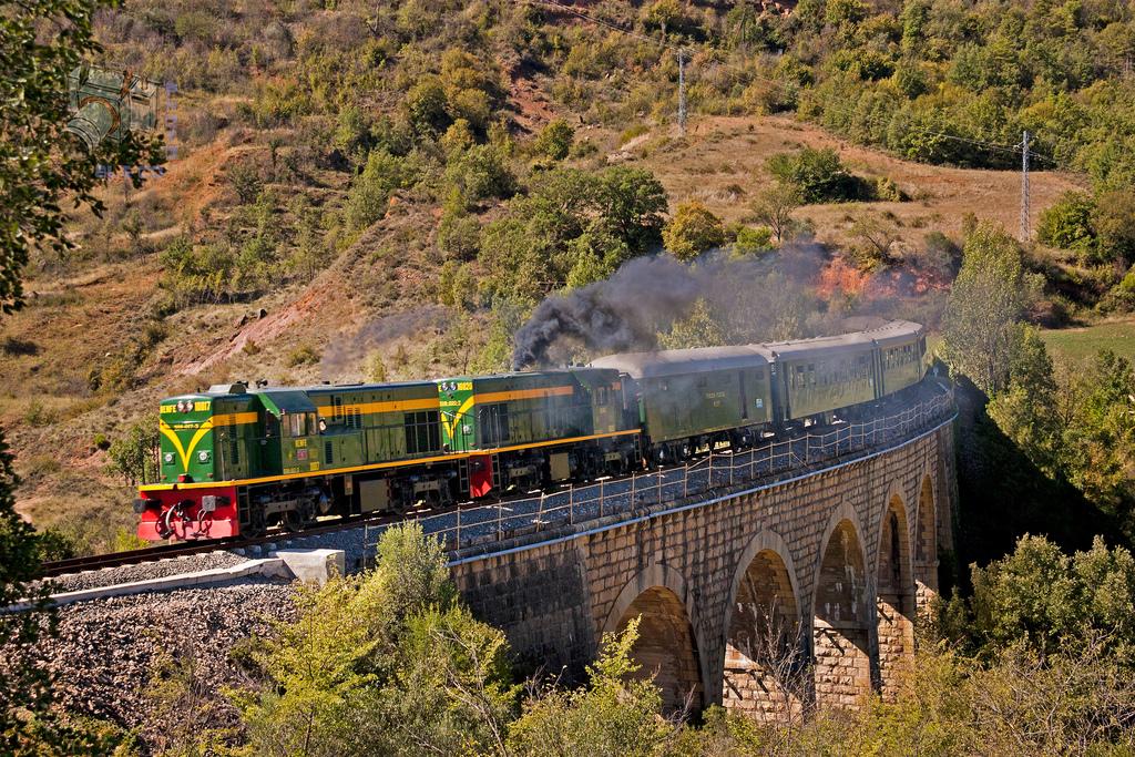 El Tren de los Lagos cierra en 2015 la que hasta ahora ha sido su mejor temporada. Foto: Aleix Cortés.