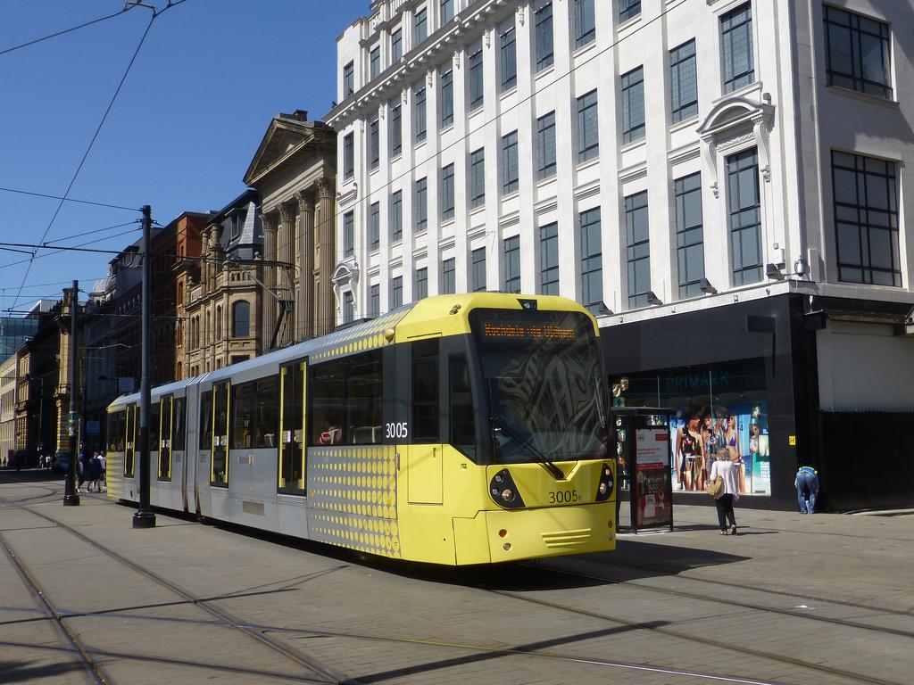 Ferrovial es una de las candidatas a operar el tranvía de Manchester, Metrolink. Foto: simon835.