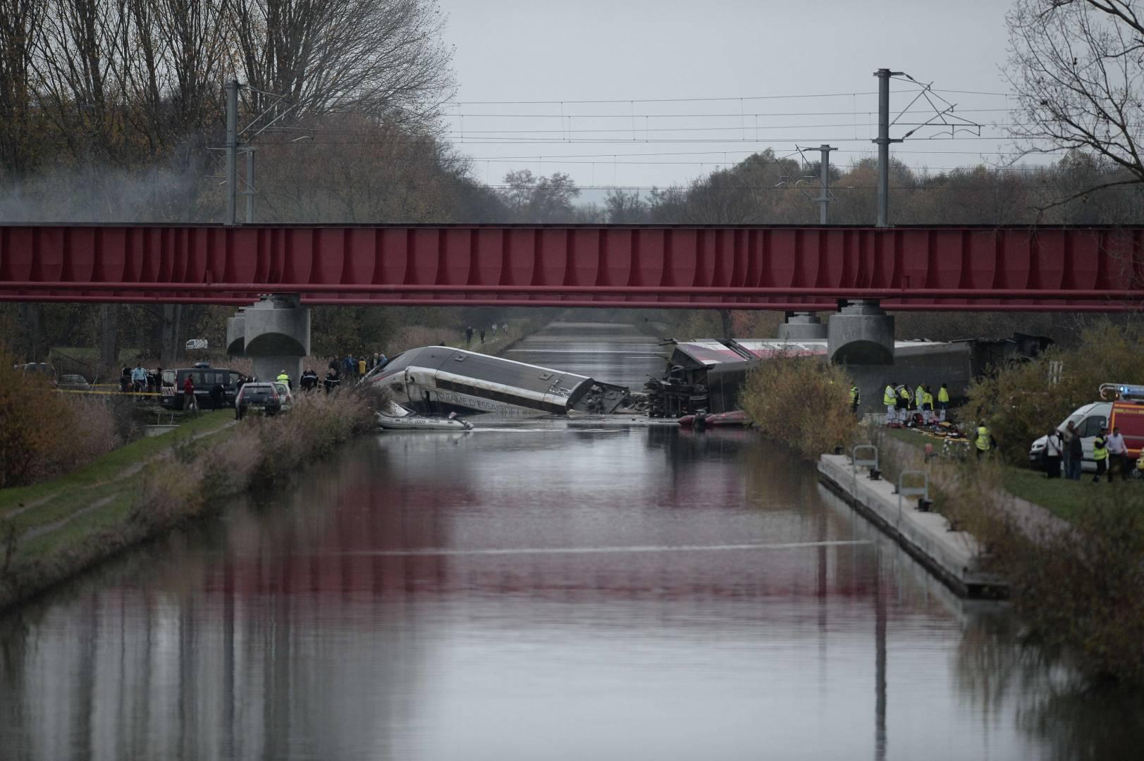 Imagen del TGV accidentado. Foto: Eshop mall.