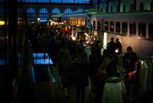 El Museo del Ferrocarril de Madrid se prepara para acoger este fin de semana la última edición del Mercado de Motores en este 2015. Foto: Luis LuCheng.