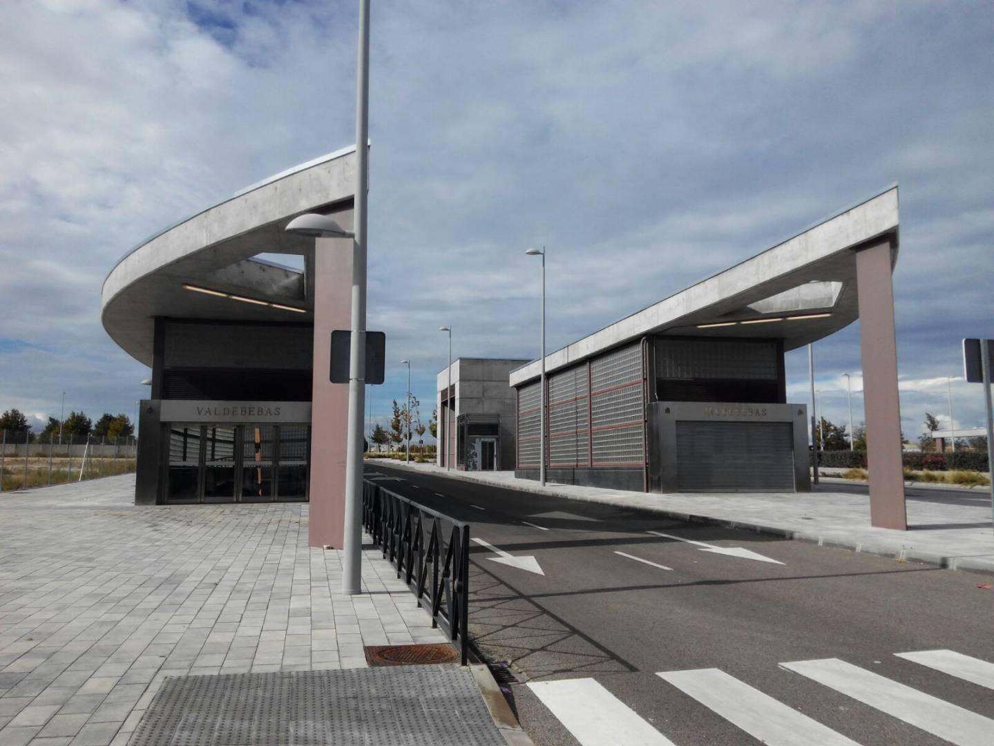 Parece que, finalmente, la estación de Valdebebas entrará en servicio, aunque no tendrá acto de inauguración oficial. Foto: El Intercambiador.