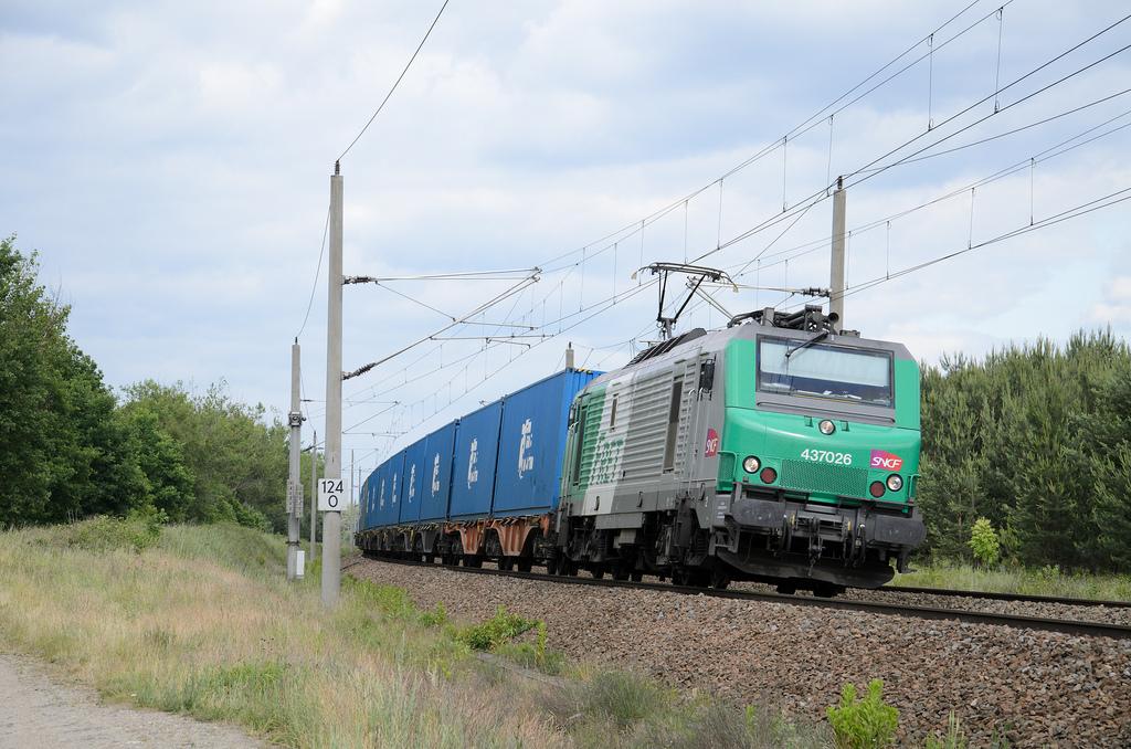 SNCF sigue los pasos del Proyecto Marathon y prueba los trenes de mercancías de 1.000m de longitud. Foto: Michael E. Klass.