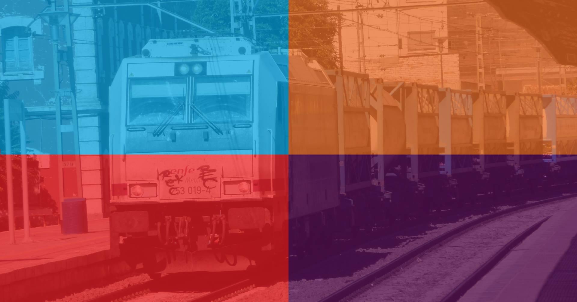 Cada uno de los cuatro principales partidos presentan propuestas ferroviarias algo dispares para las elecciones del 20D. Foto: Miguel Bustos.