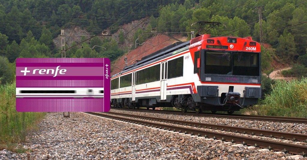 El programa de fidelización +Renfe llega, por fin, a los trenes de Cercanías aunque sea a medias. Foto: eldelinux.