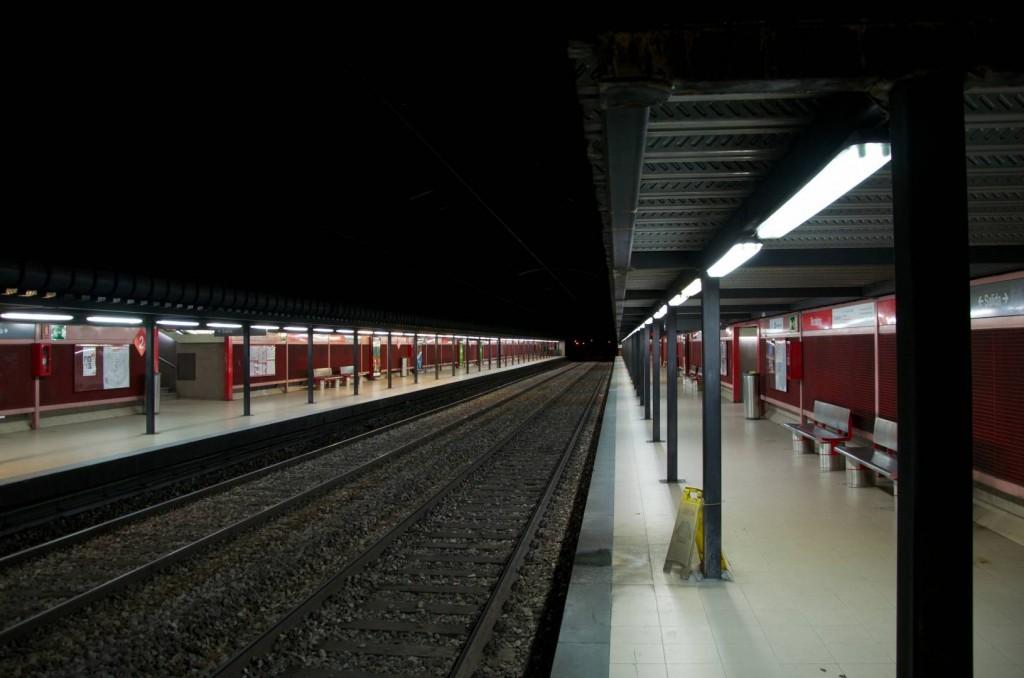 Así luce actualmente la estación de Recoletos. Foto: Savh.